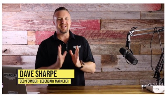 David Sharpe, founder of Legendary marketer