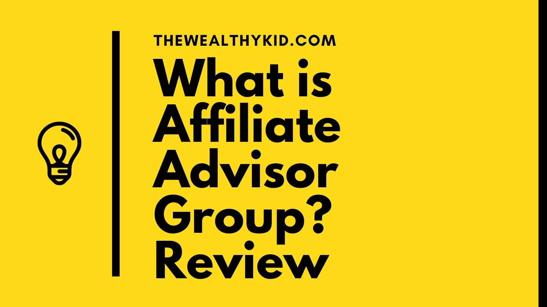 What is Affiliate Advisor Group