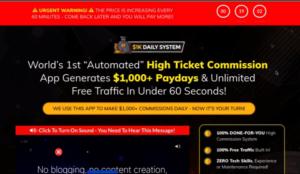 1k daily system deceptive sales techniques