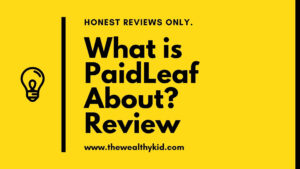 What is Paidleaf about?