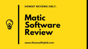 what is Matic Software about