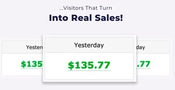 This image shows a fake income proof coming from Genie software, another product from the same vendors. But exactly similar to the income proof on zippy sales page