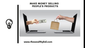 How to make money by selling other people's products