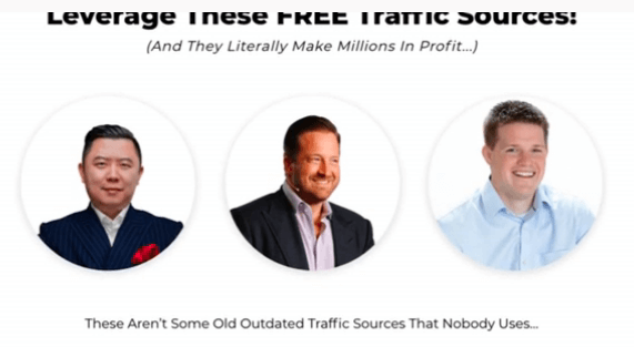 Image showing 3 Big marketers faces