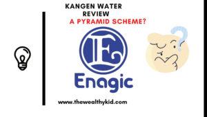 Is Kangen water a pyramid scheme?