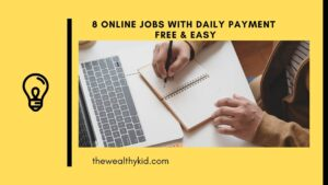 online jobs with daily payment