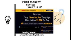 what is print monkey